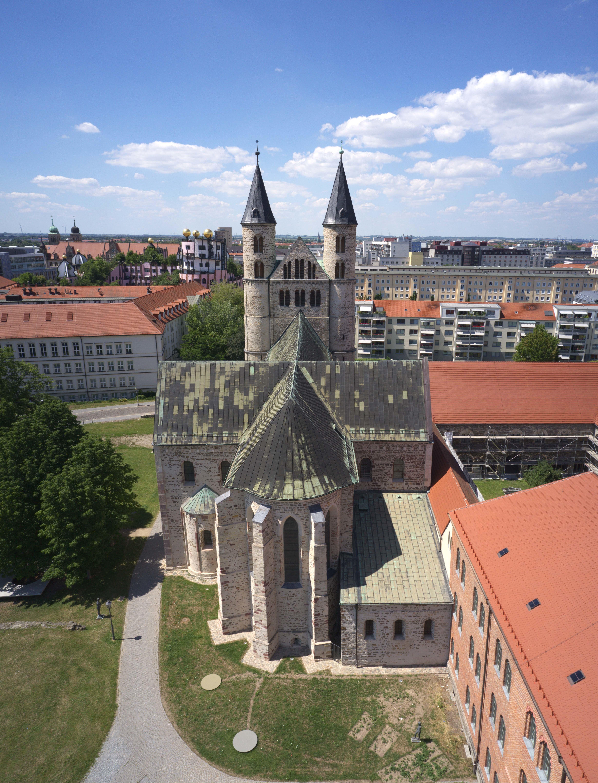 Klosterkirche von oben