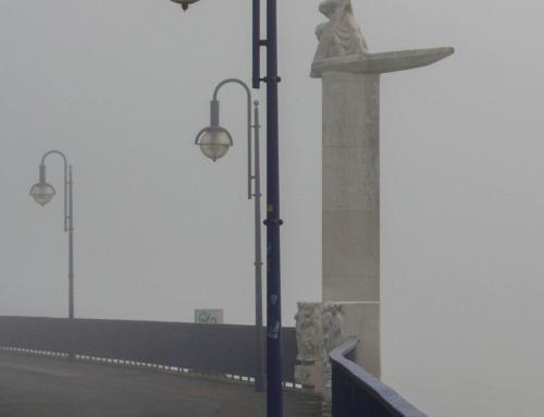 """Denkmal """"Der Fährmann"""""""