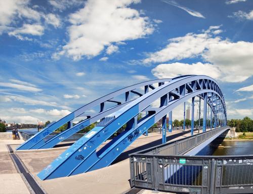 Sternbrücke Magdeburg Panorama