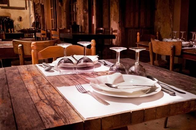 Muster Restaurant Essbereich