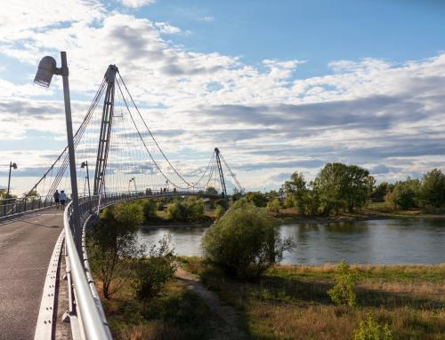 Herrenkrugsteg Brücke