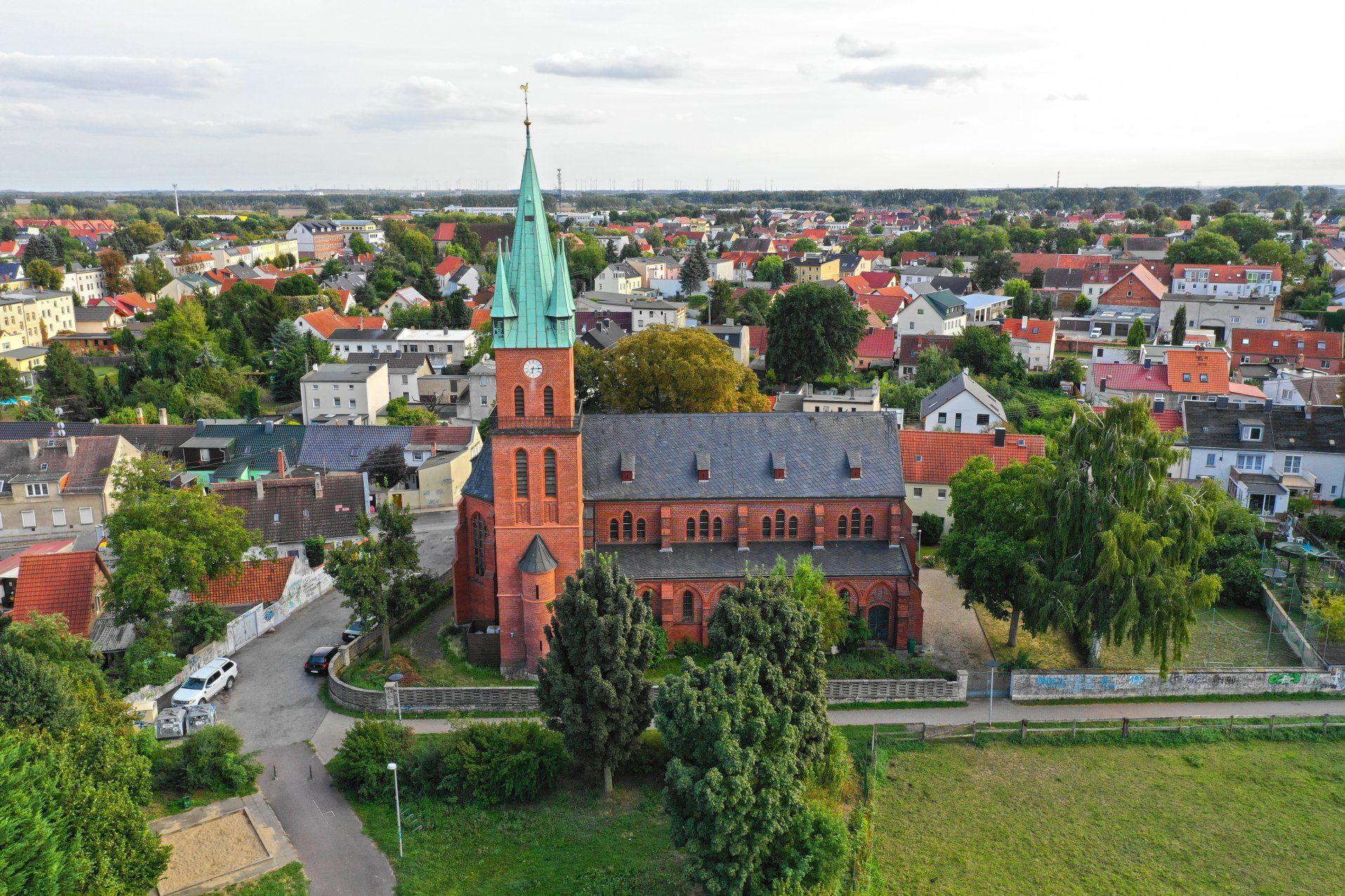 St.Maria-Hilf Kirche in Magdeburg Ottersleben