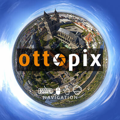 Ottopix Little Planet Logo