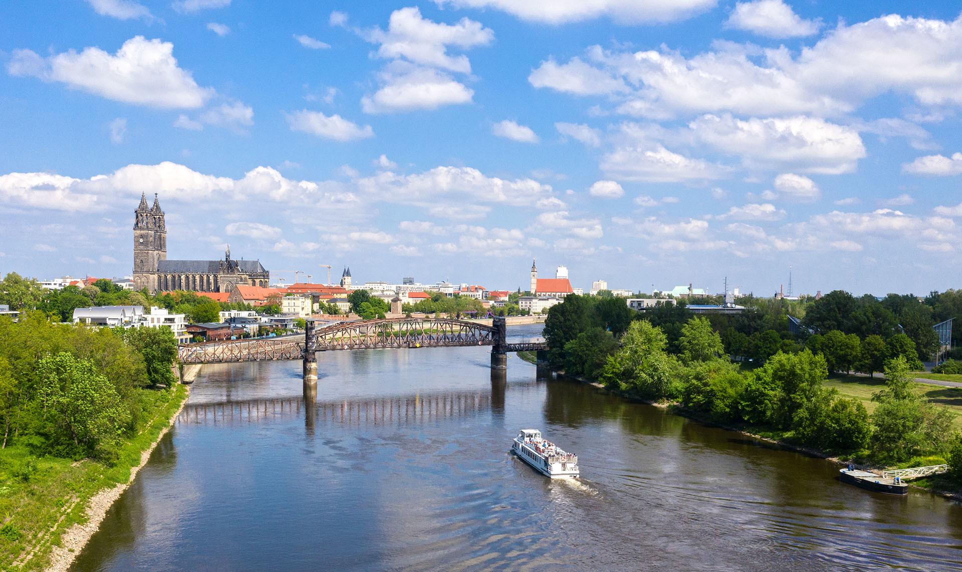 Hubbrücke Luftaufnahme Panorama