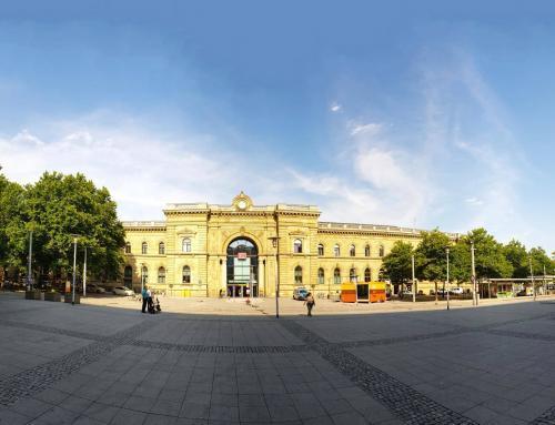 Magdeburg Hauptbahnhof – Willy-Brandt Platz