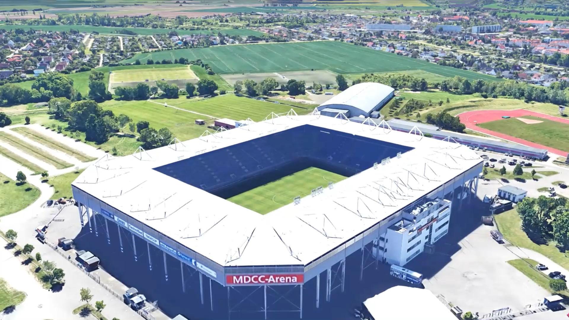Heimstadion des 1.FC Magdeburg