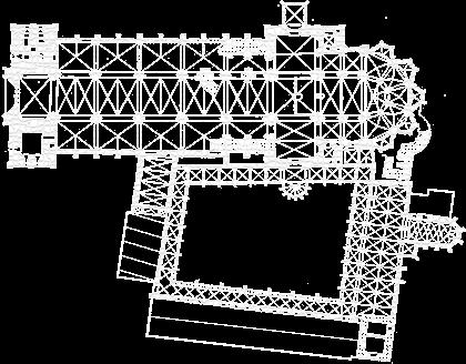 Magdeburger Dom Grundriss Vektor