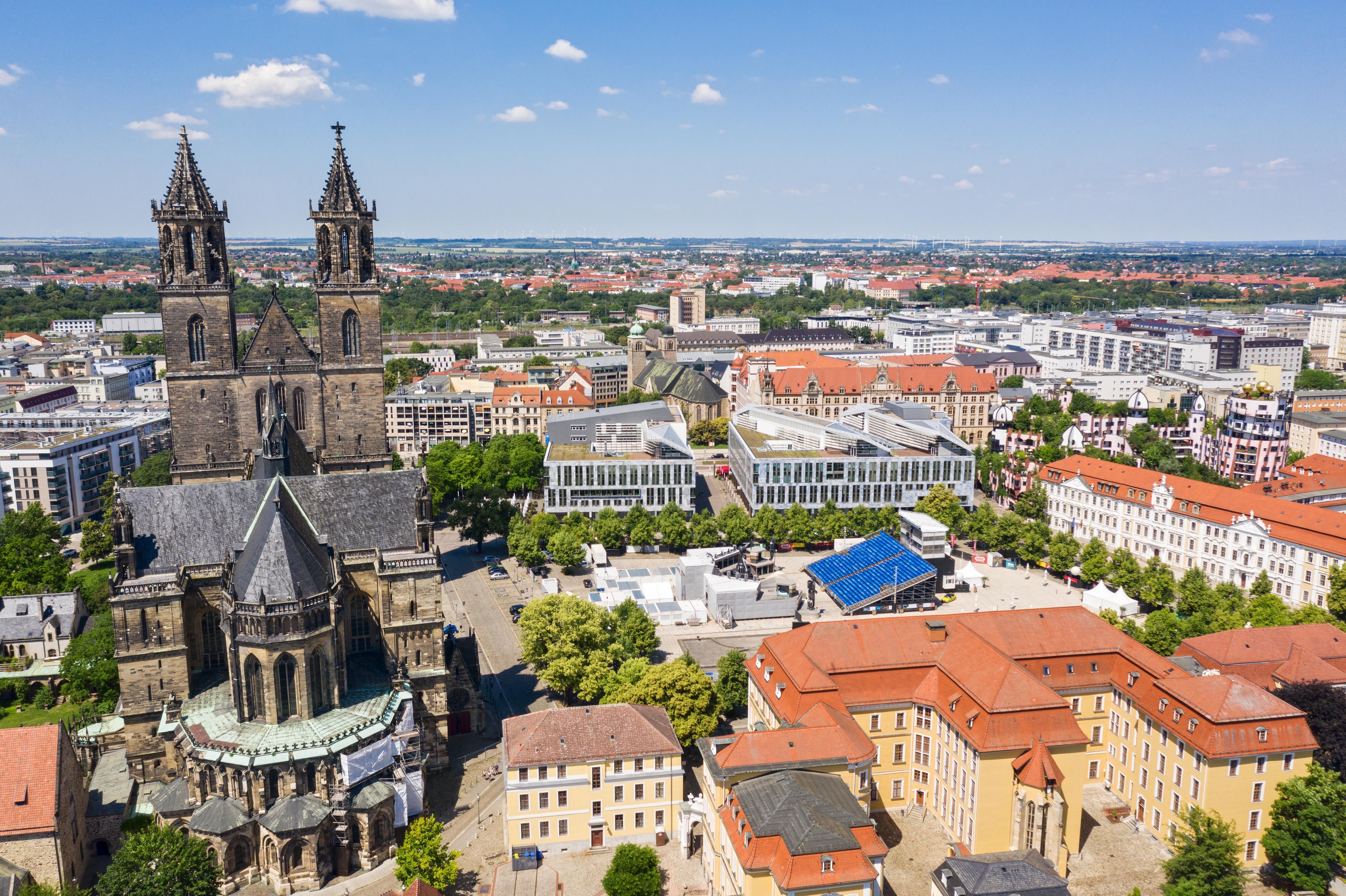 Magdeburger Dom und Domplatz