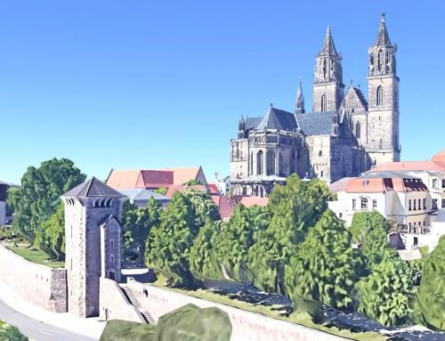 Magdeburger Dom Simulation