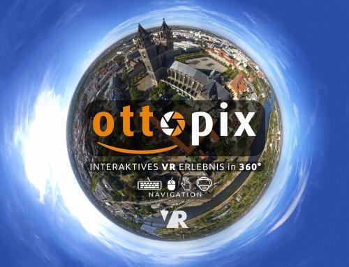 Ottopix VR – Video zum virtuellen Stadtrundgang Magdeburg