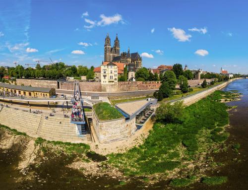 Magdeburger Domfelsen am Fürstenwall