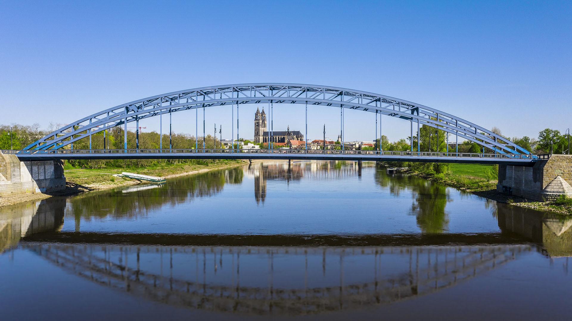 Sternbrücke Magdeburg Südfassade