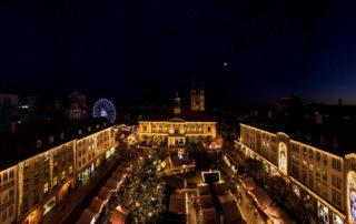 Weihnachten auf dem Alten Markt von Magdeburg