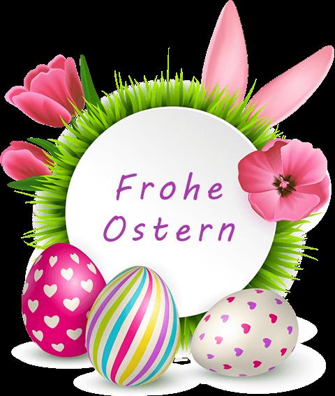 Feiertages-Grüße zu Ostern